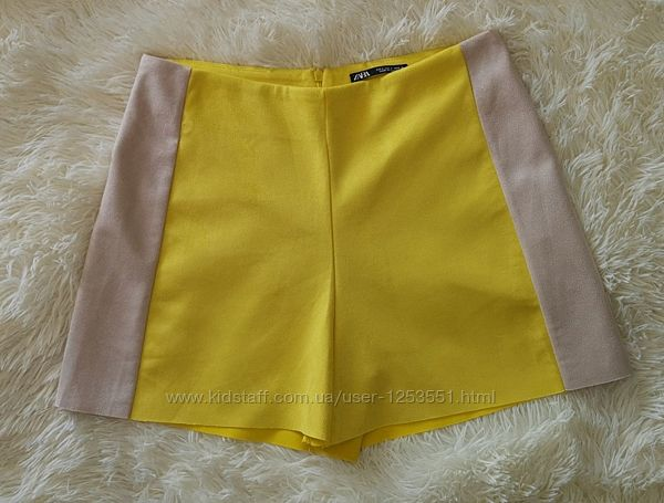 Новые яркие шорты Zara, размер S