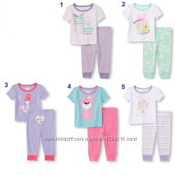 Пижамки для девочки, комплекты для дома Childrens Place 6мес - 5Т
