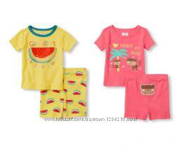 Пижамки для девочки, комплекты для дома и улицы Childrens Place12-18, 18-24