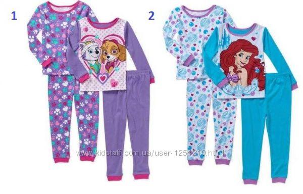 Пижама для девочки Ариэль и Щенячий патруль 2-3года Nickelodeon