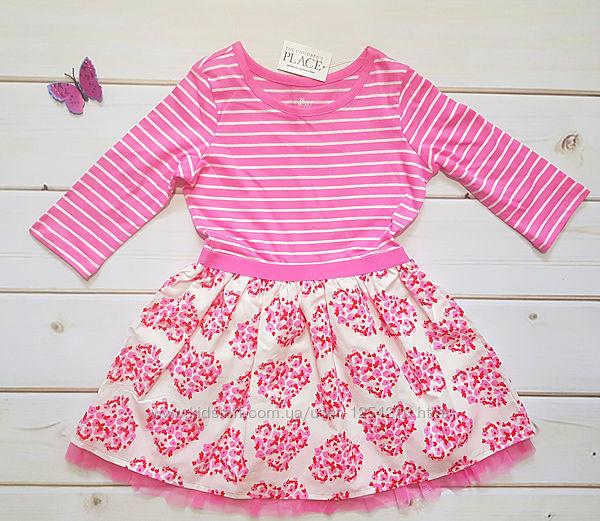 Платье в цветах Childrens Place 3Т
