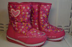 Зимние ботинки 15-72А, натур шерсть, сапоги, дутики, сноубутсы