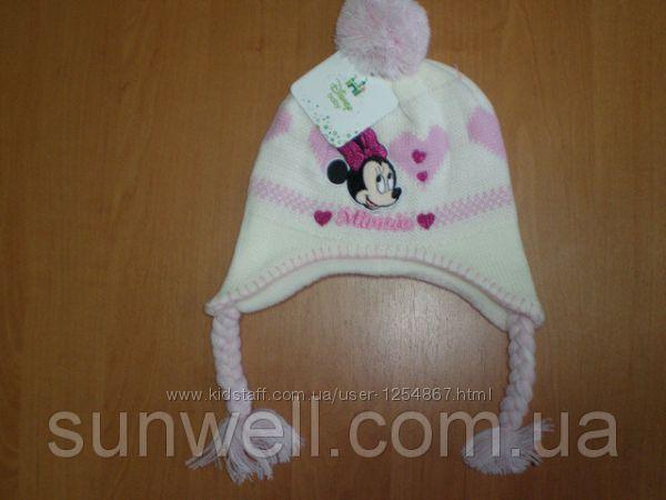 Детская зимняя шапка Sun City р. 48, 50 подкладка флис