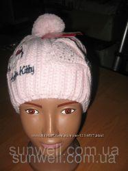 Детская демисезонная шапка для девочек Sun City р. 52, 54