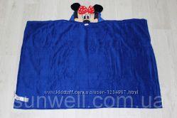 Пляжное полотенце с капюшоном Minnie Mouse, велсофт