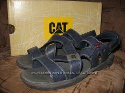 Новые кожаные босоножки сандалии Cat 39р-26см