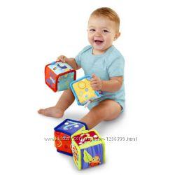 Мягкие тканевые Кубики Bright Starts США Оригинал