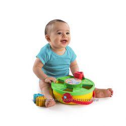 Развивающая игрушка-Сортер круглый 4 в 1 от Bright Starts Оригинал