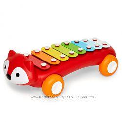 Развивающая игрушка-каталка Лисенок-ксилофон от Skip Hop Оригинал