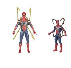Интерактивная фигурка Человек Паук 30 см и фигурка Человек паук 15 см