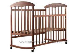 Детская кроватка Наталка Ясень матрасик