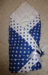 Продам осенний конверт -одеяло на выписку