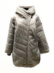Стильные женские куртки большие размеры