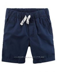 Поплиновые шорты Картерс для мальчиков 2, 3, 4, 5 лет