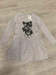 Продам новое красивое платье НМ на девочку 6-8 лет
