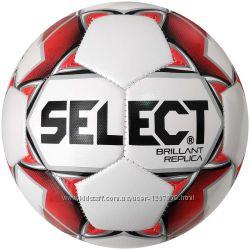 Мяч футбольный для детей SELECT BRILLANT REPLICA -3, 4, 5  размер