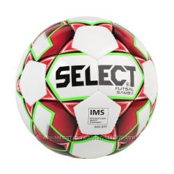 Мяч для футзала SELECT FUTSAL SAMBA 4 размер, низкий отскок, оригинал