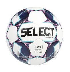 Футбольный мяч SELECT TEMPO Дания термосклееный оригинал