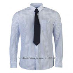 Мужская рубашка с галстуком Pierre Cardin