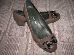 Кожаные туфли Gianluka Pisati, 38 р.