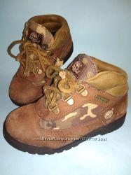 Ботинки Timberland демисезонные зимние EUR 29. 5 камуфляж