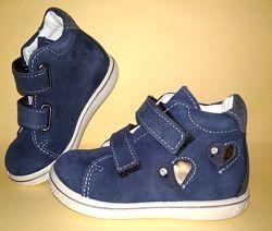 Pepino ботинки полуботинки стразы нубук демисезон 20 размер