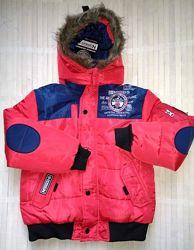 Куртка с меховой подкладкой 6 лет boston geographical norway