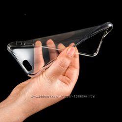Прозрачный силиконовый чехол на iphone 6 6s на айфон 6 6с