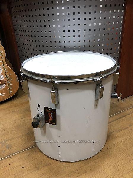 3207 Барабан Том Напольный 16 Дюймов White