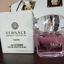 Тестер 90мл versace bright crystal
