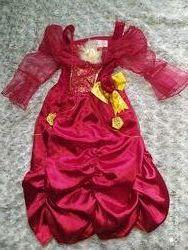 карнавальное платье Белль красавица и чудовище 3-4 года