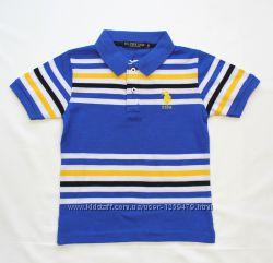 7011-г  Поло U. S. Polo Assn от 6 до 14 лет