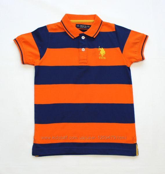 7018  Поло U. S. Polo Assn на 7 и 8 лет
