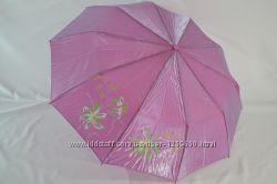 Зонт хамелеон полуавтомат на 10  крепких спиц. Антиветер