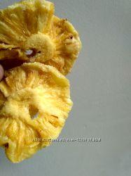 Ананасы вяленые, натуральные 1 кг.