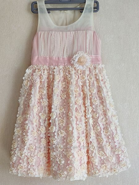 Платье нарядное  Bonnie Jean  на 8 лет