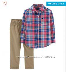 Новый комплект carters картерс рубашка и джинсы 3т