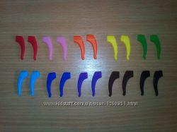 Силиконовые заушники стопперы для детских очков цветные