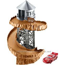 Трек Disney Pixar Cars 3 Midnight Run Spiral Set -тачки 3 Оригинал