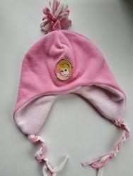 Двухслойная шапка из флиса размер 51, 55