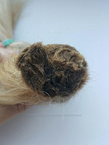 Волосы натуральный блонд