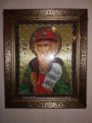 Красивая именная икона ручной работы Святой князь Ярослав Мудрый