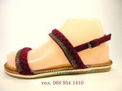 Босоножки-сандалии нарядные, разные цвета. Размер 36-41.
