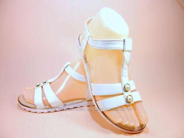 Босоножки сандалии белые черные бежевые. Размер 36-41.