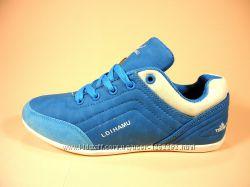 Кроссовки женские для бега и тренировок, голубые и серые. Размер 36-41.