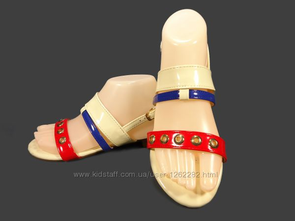 Босоножки - сандалии женские, лаковые, модные. Размер 36-41.