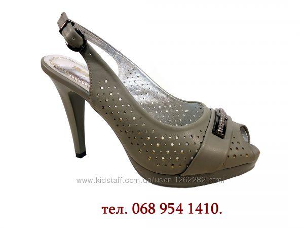 Женские босоножки на высоком каблуке, шпильке, нарядные. Размер 35-40.