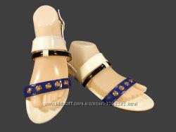 Босоножки сандалии, женские, лаковые, модные. Размер 36-41.