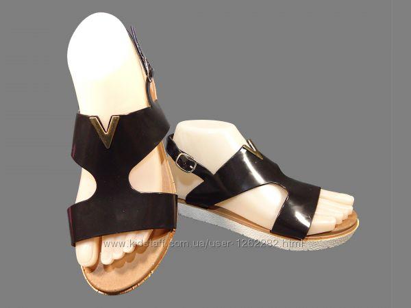 Босоножки сандалии женские, силиконовые, черные, пенка. Размер 36-40.