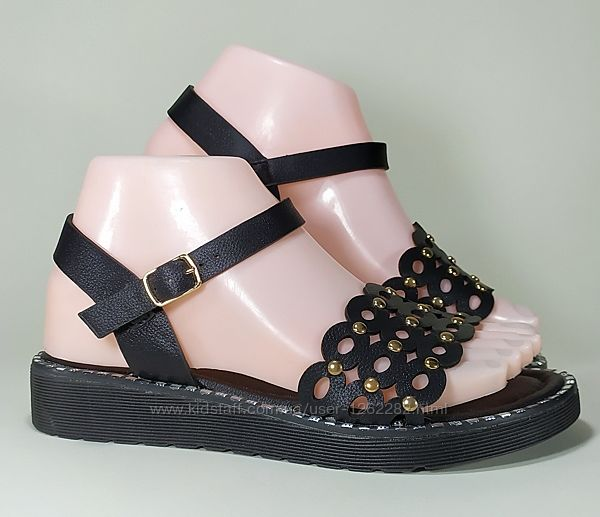 Женские сандалии босоножки на танкетке, эко кожа